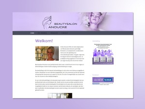 Beautysalon Anoucke website