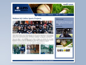 Collin Sports Projects website