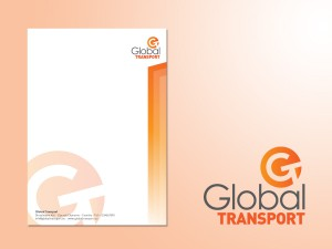 Global Transport Service logo/huisstijl