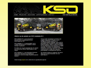 KSO Installaties website